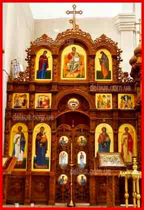 Заказать иконостас для храма