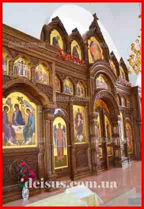 Заказать иконостас в Украине