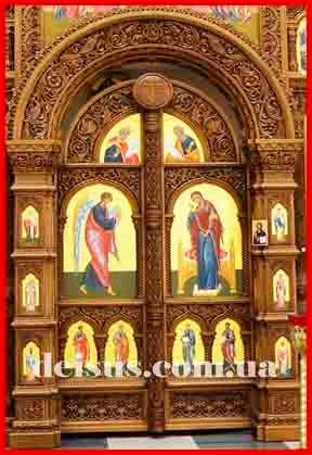 Царские врата для иконостаса Украина