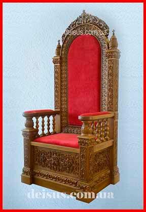 Заказать трон (седалище) для храма