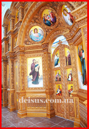 Заказать церковный иконостас