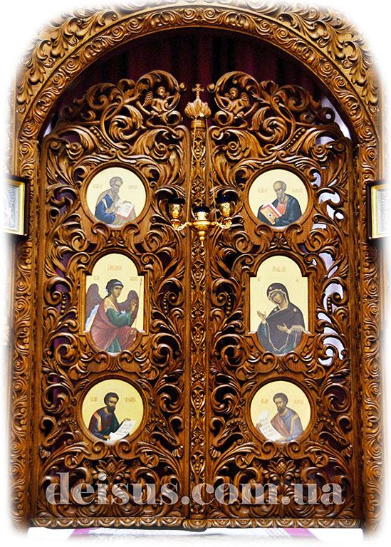 Царские врата иконостаса. Артикул 00550