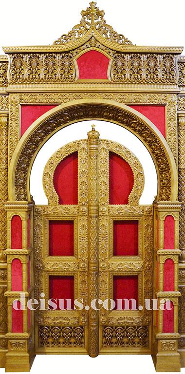 Царские врата для храмового иконостаса