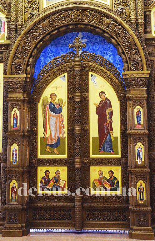 Заказать царские врата для иконостаса,.