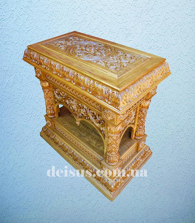 Мощевик для храма вид сверху. Артикул №00800