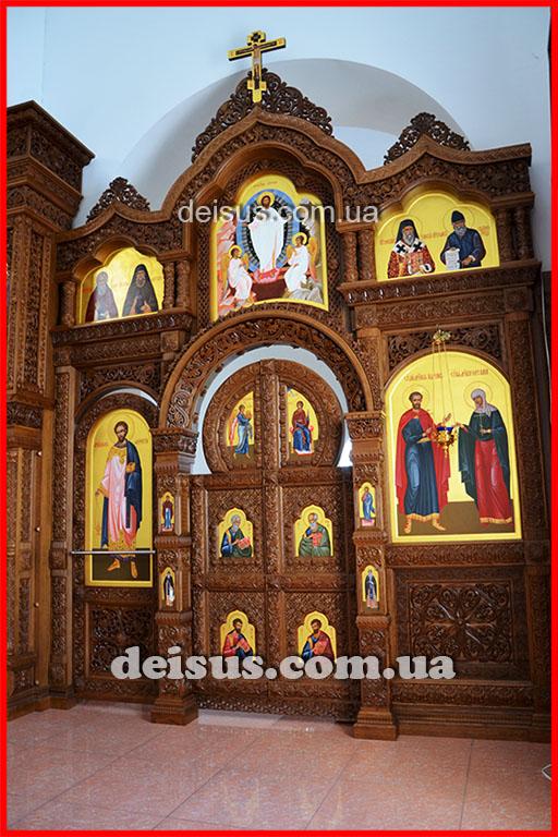 Южный предел иконостаса на заказ для храма.